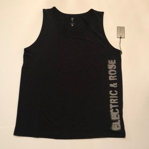 Other - NWT Electric & Rose black tank